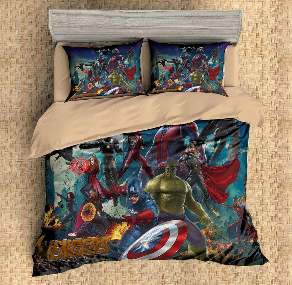 3D Customize Avengers Infinity War Bedding Set Duvet Cover