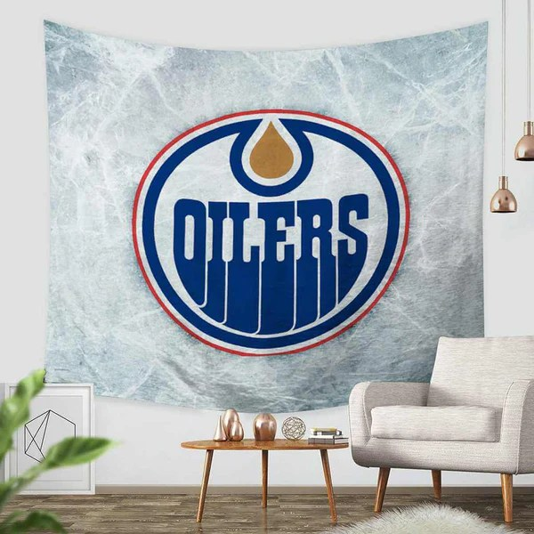 hanging chair edmonton crate and barrel canada accent chairs 3d custom oilers tapestry throw wall bedspread three lemons hometextile