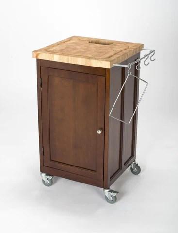 kitchen prep station knife sheaths chris natural pantry fold up cart your island