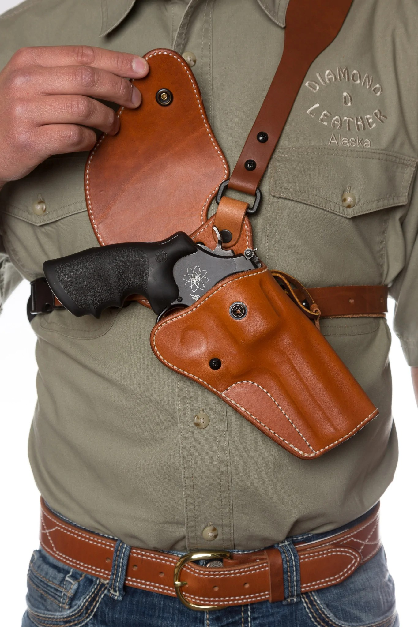 Guides Choice Leather Chest Holster Ultimate Outdoor