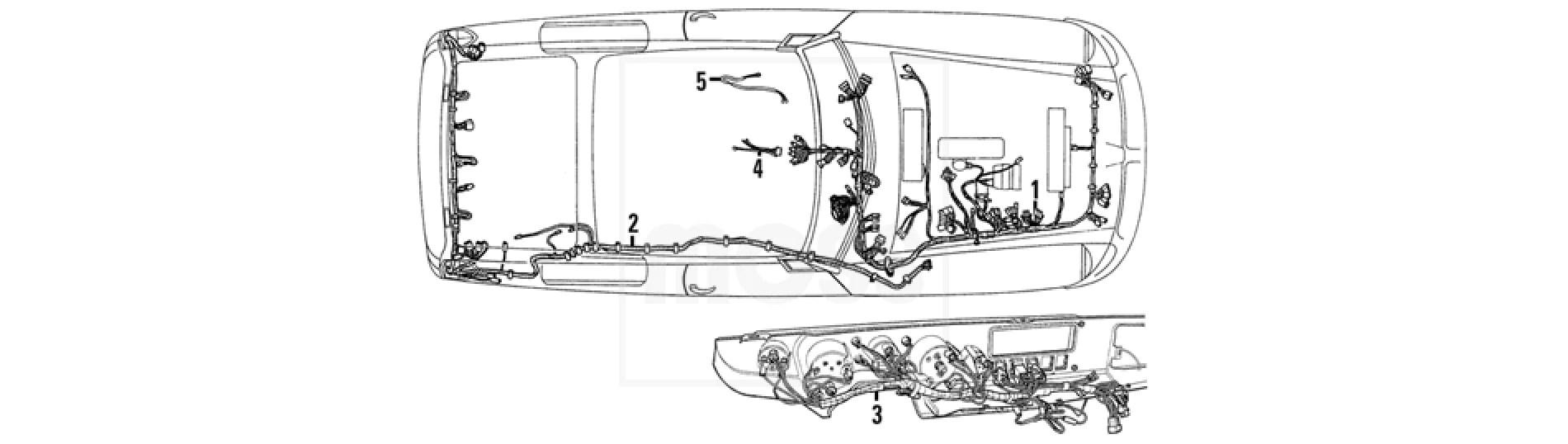 mgb fuse diagram [ 1900 x 538 Pixel ]