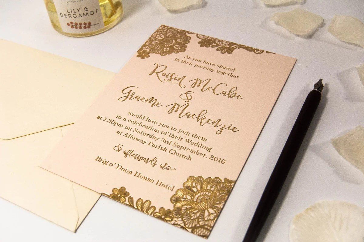 Luxury Wedding Invitations By Com Bossa Uk Letterpress