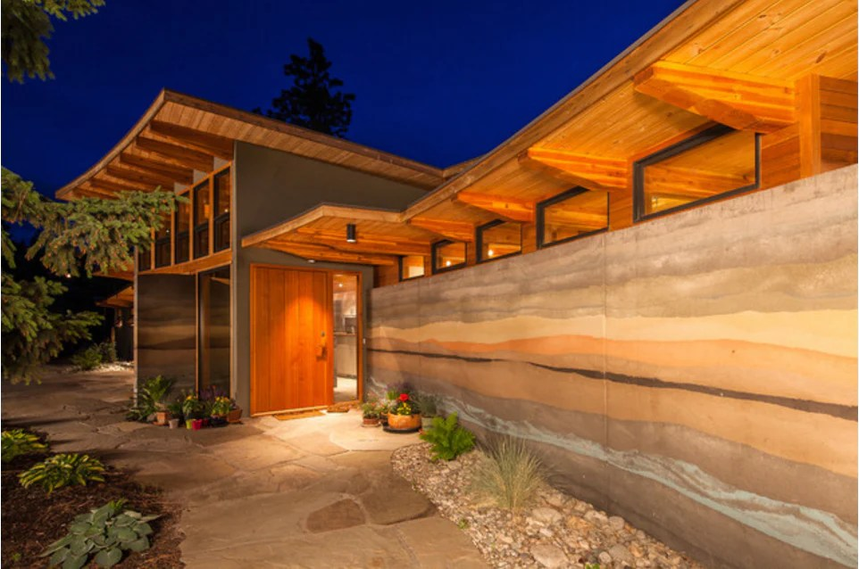 How to Build an Earthquake Resistant Rammed Earth Home  Slim Wallet Company