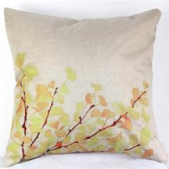 Pillow Covers For Living Room Modern Table Vintage Decorative Home Cotton Linen Case Cover Bed Chair Seat Waist Throw Cushion