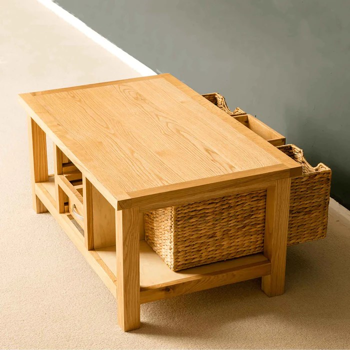 london oak coffee table with