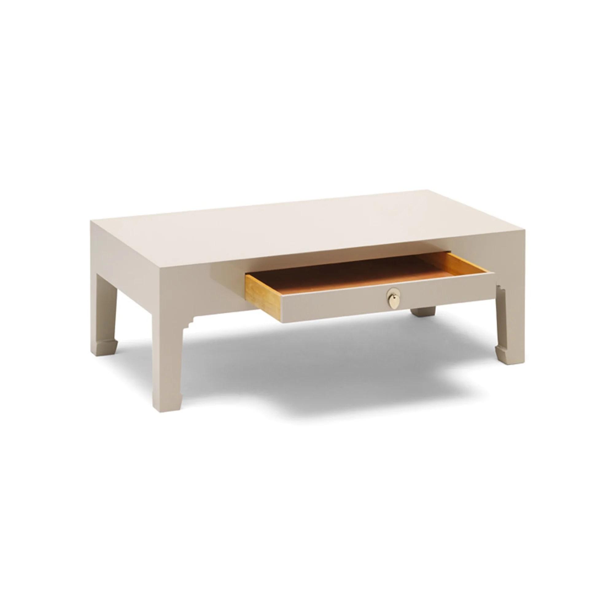 the nine schools grey coffee table