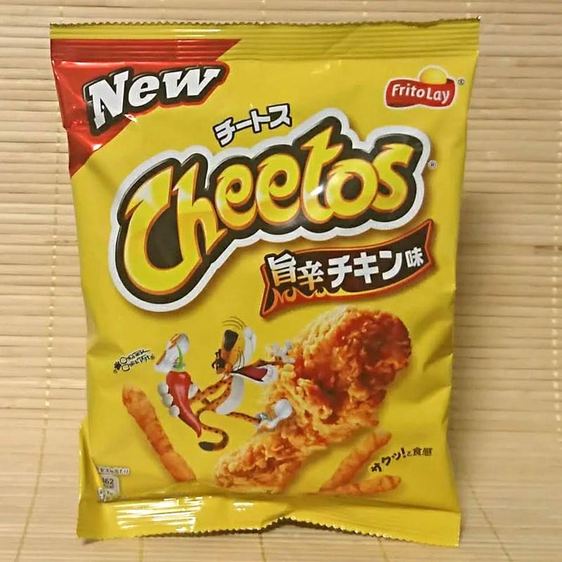 cheetos spicy chicken umakara