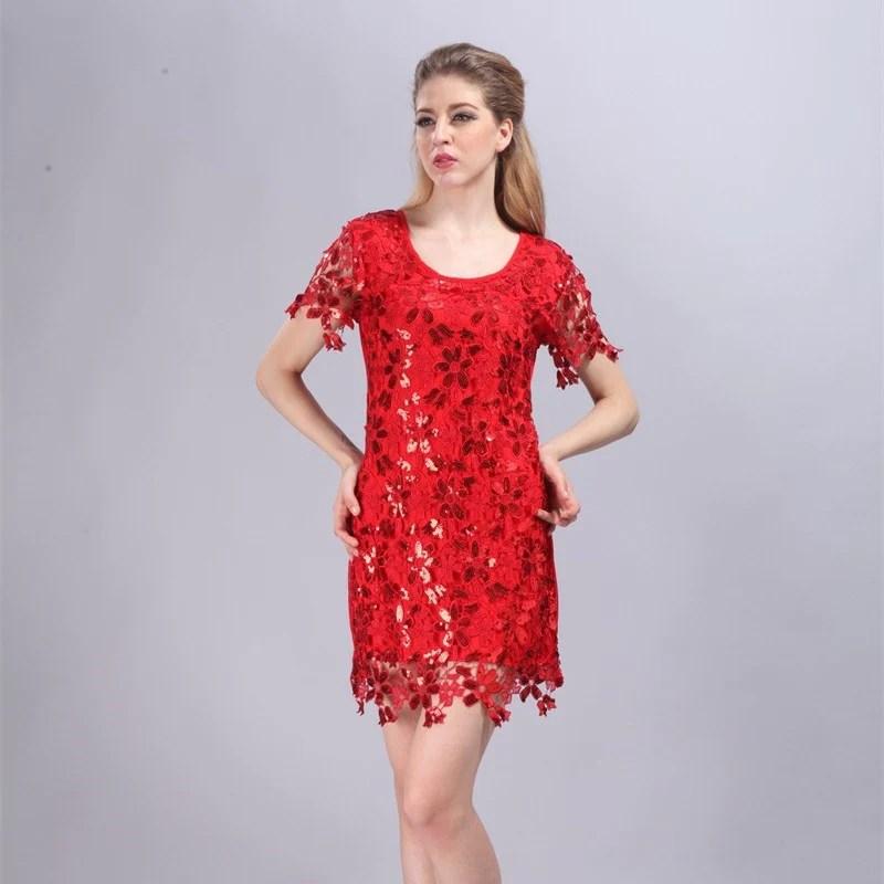 Cute Summer Short Sleeve Dresses
