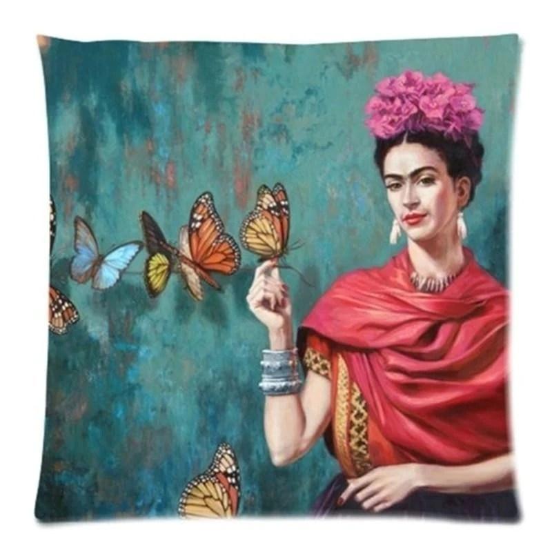 frida kahlo pillow case