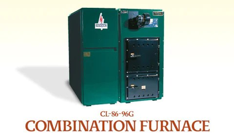 CL86G  CL96G Newmac Multifuel Furnace Wood Coal and