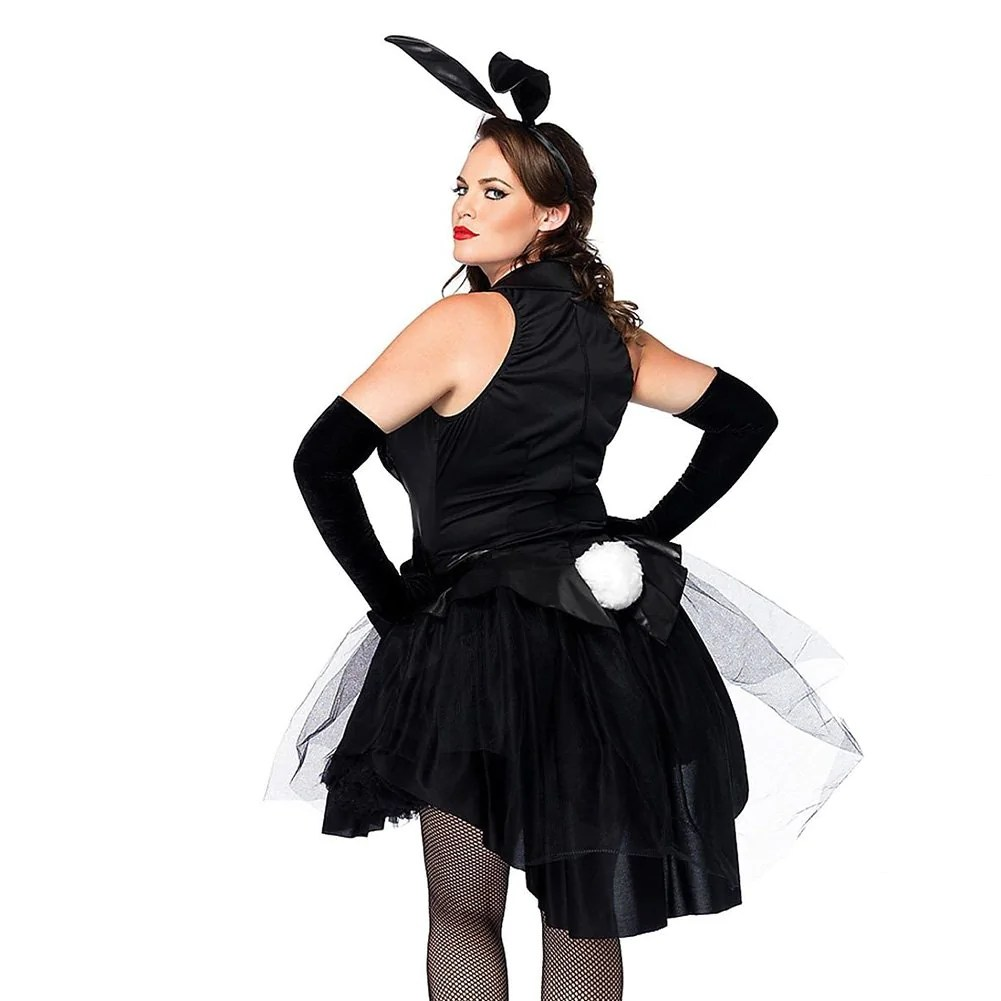 Halloween Women' Costume Dress 3 Piece Sexy Tux And Tails Bunnytuxed Thekingwarehouse