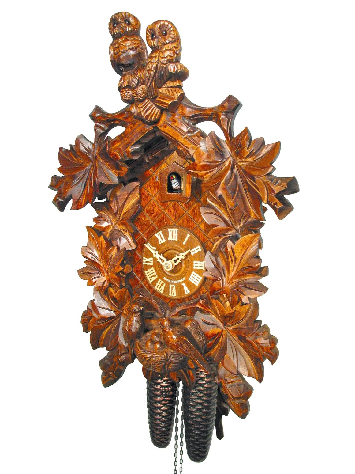 Traditional Carved Cuckoo Clocks - Cuckoo Collections