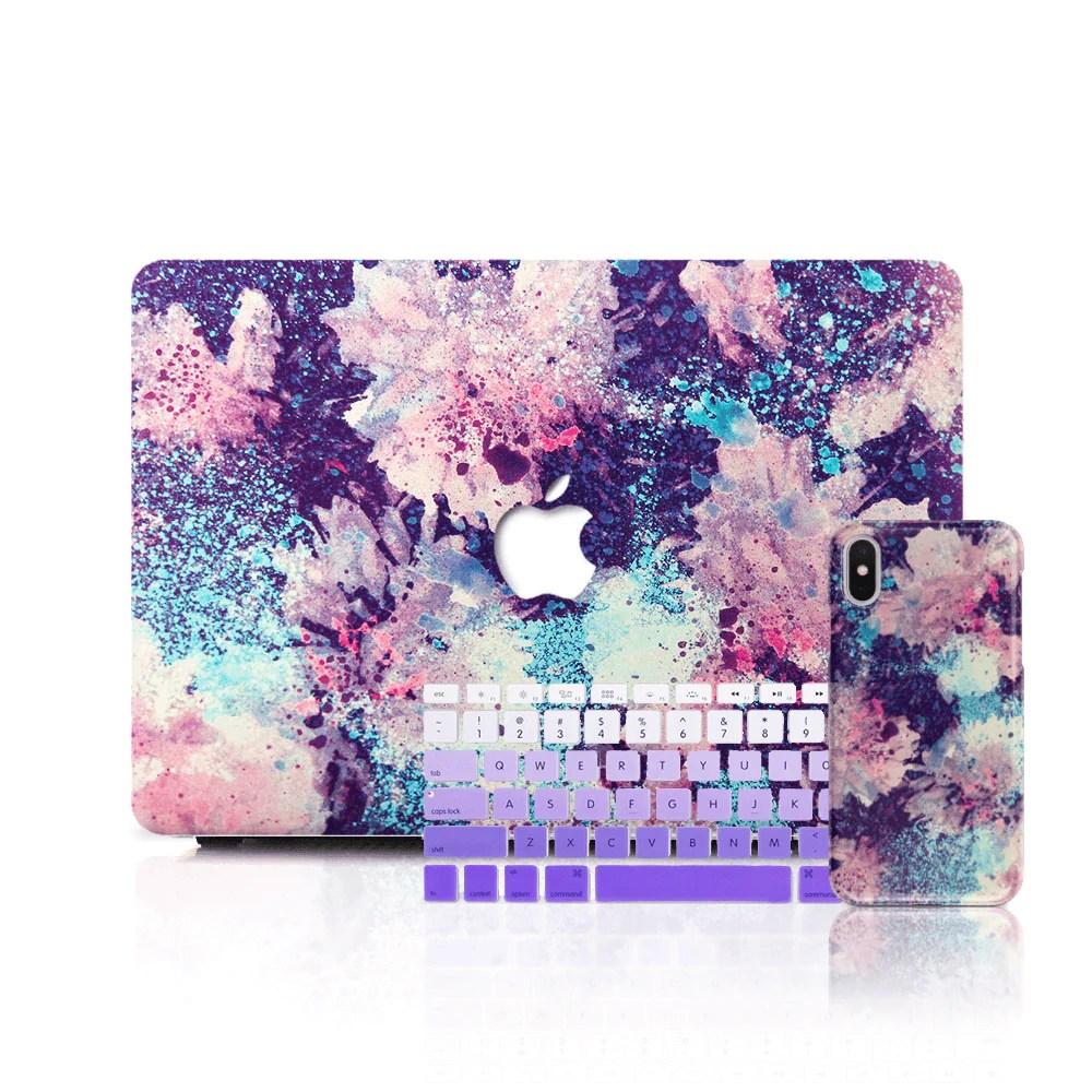 macbook case set abstract