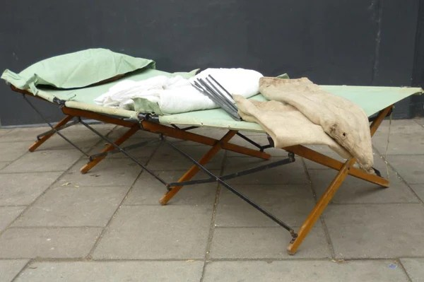 WWII British Army Officers Camp Bed  The Architectural Forum