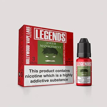 LEGENDS™ - Anger Management Green Apple Sour Peach 3 x 10ml
