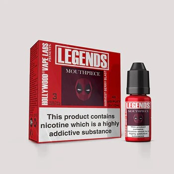 LEGENDS™ - Mouthpiece Tart Blueberry 3 x 10ml