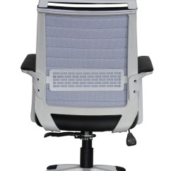 Contemporary Office Chairs Kroehler Chair Value Executive With Attached Headrest Black Vegan Leather Ergonomic Comfort Cushion