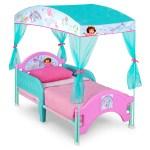 Dora Toddler Canopy Bed Deltaplayground