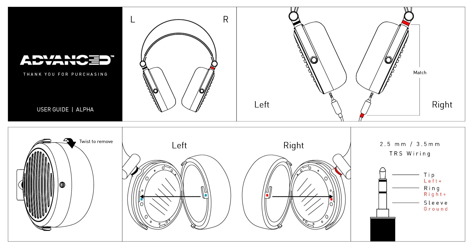 small resolution of advanced alpha planar magnetic headphoens user guide