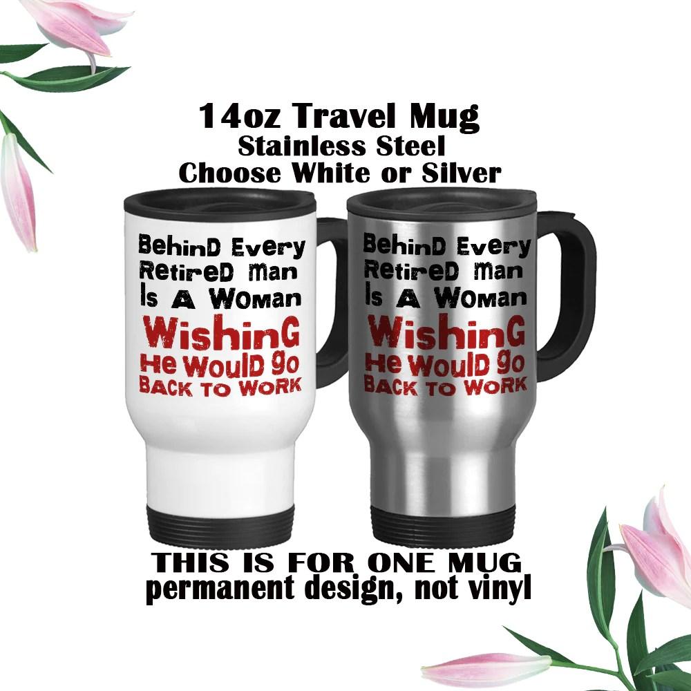funny retired mug retirement