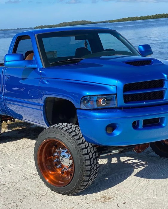 Dodge Ram Custom Grill : dodge, custom, grill, 94-02, Dodge, Adjustable, Control, Stock