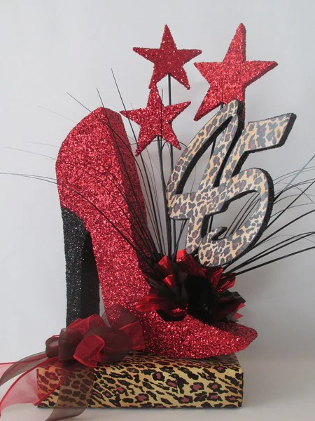 High Heel Shoe Centerpiece – Designs By Ginny
