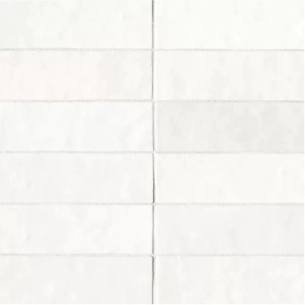 ceramic cloe 2 5 x 8 wall tile in white