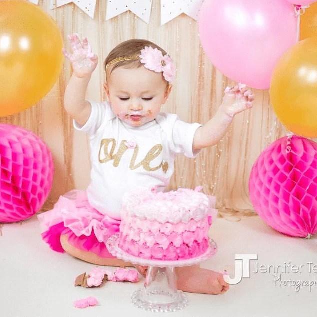 1st birthday baby girl