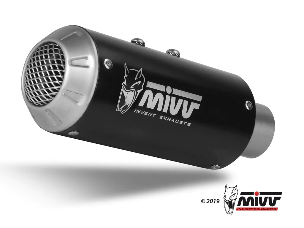 mk3 full system exhaust for kawasaki ninja 650 mivv