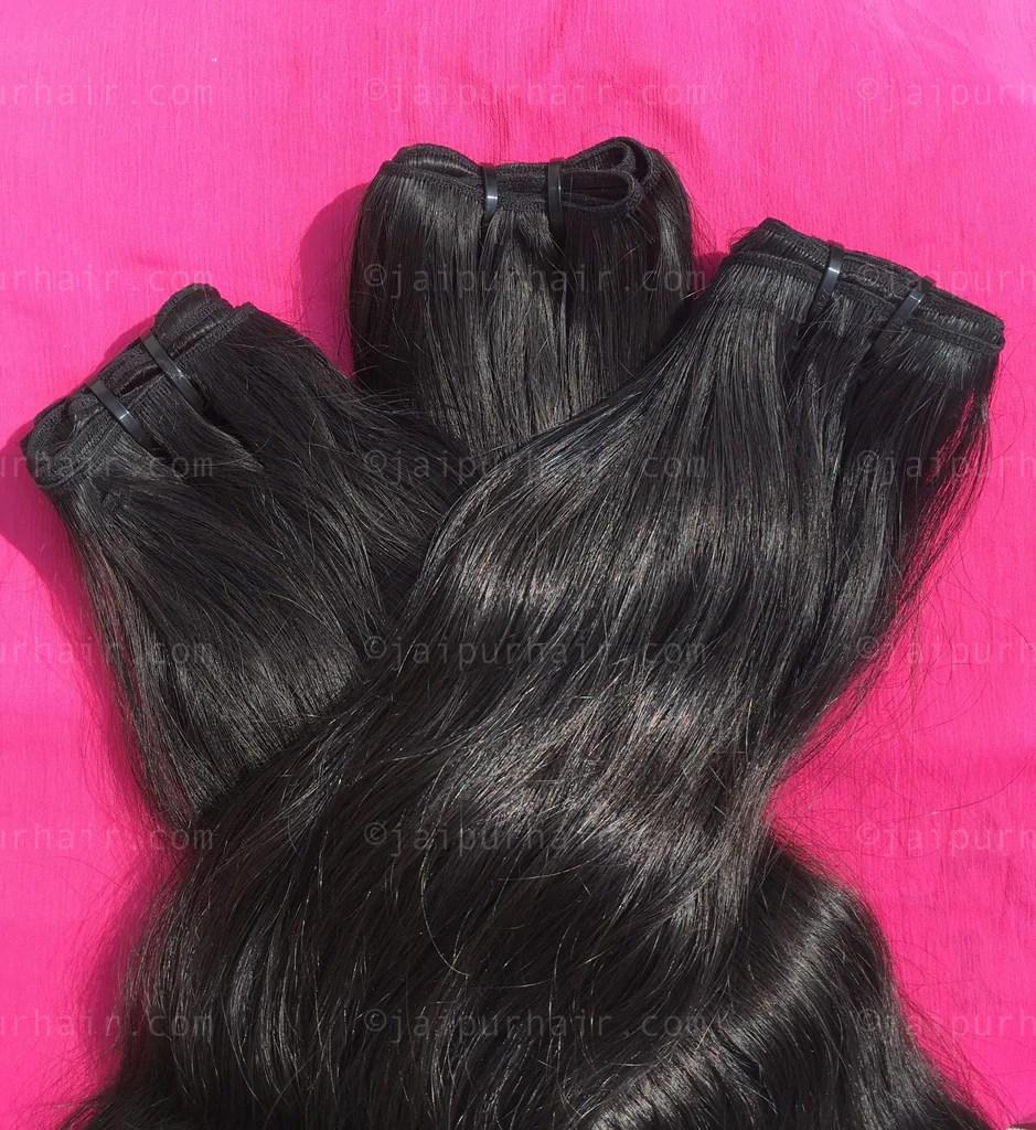 raw indian wavy hair virgin
