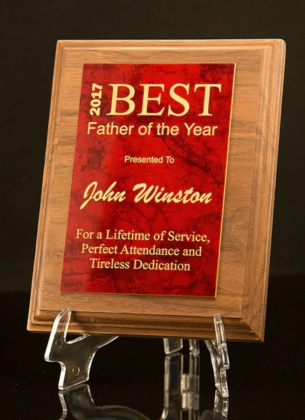 plaque personalized father s
