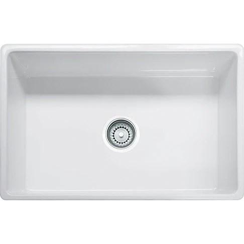 30 kitchen sink white porcelain undermount franke fhk710 fireclay farm house apron front in speedysinks
