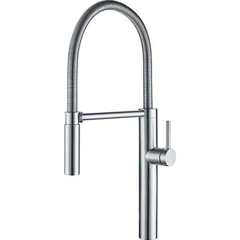 chrome kitchen faucet stone sinks franke pescara ffpd4300 polished chariot