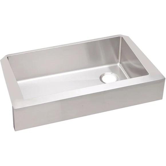 elkay kitchen sinks amazon undermount ectruf30179r crosstown stainless steel single bowl farmhouse sink