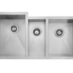 Triple Kitchen Sink Equipment List Master Chef Nice 42 Inch Bowl Stainless