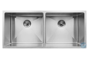 42 inch kitchen sink equipment master chef paris radial double bowl stainless