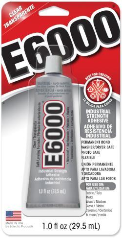 E6000 Glue Clear Mv 1oz 6 Case 231017c Creative Wholesale