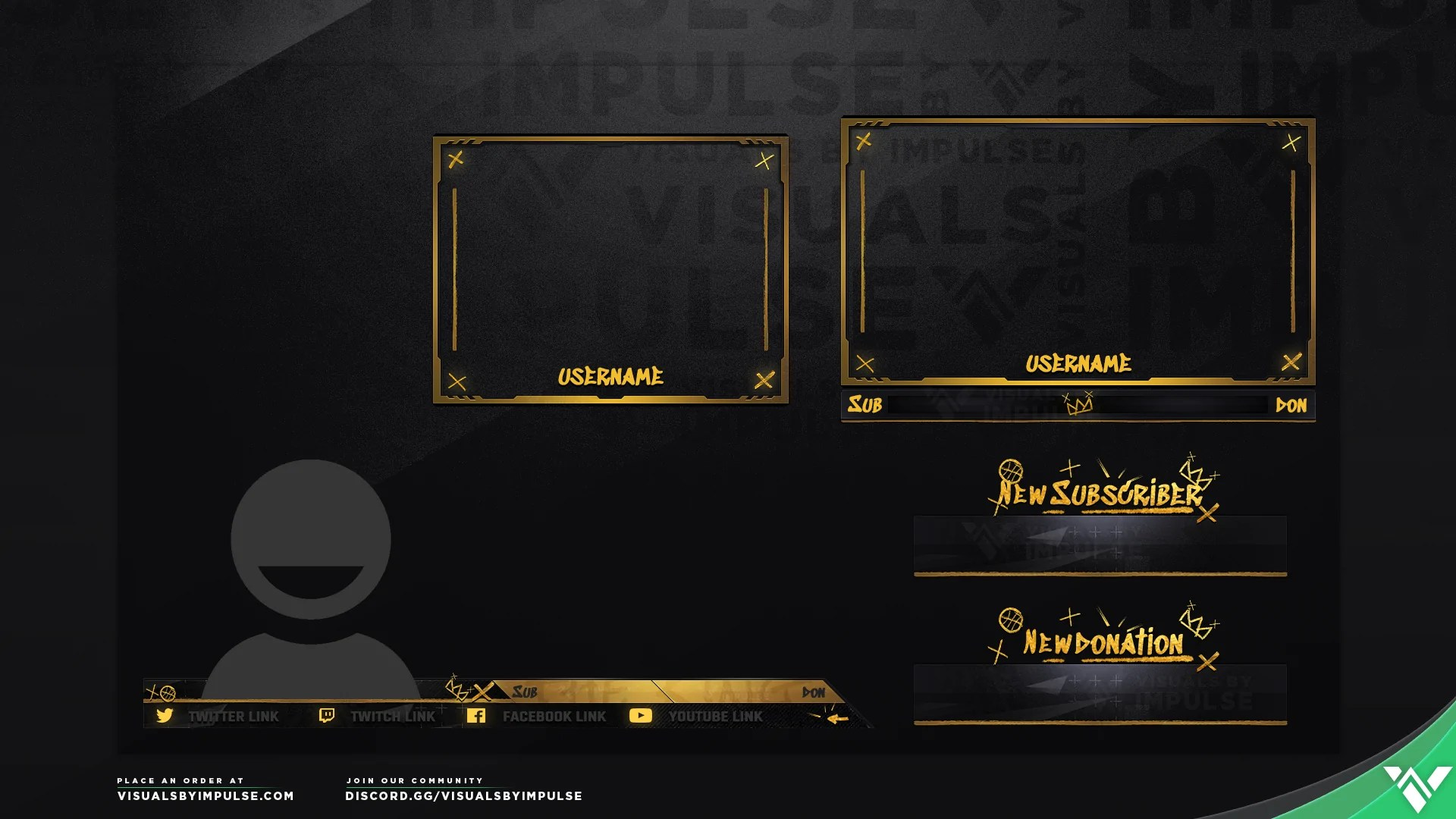 2K Stream Overlays  NBA 2K19 Graphics for Twitch and