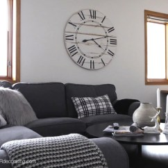 Living Room Clocks Next Show Me Designs How To Hang A Big Clock In No Time