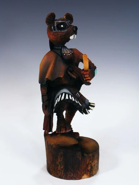 Hopi Mouse Warrior Kachina  PuebloDirectcom
