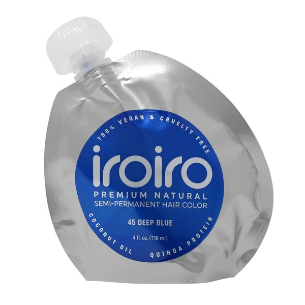 iroiro 45 deep blue natural vegan