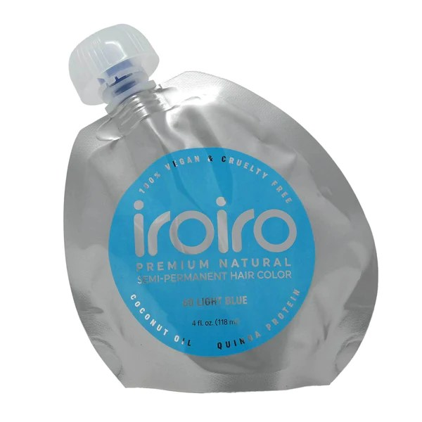iroiro 60 light blue natural vegan