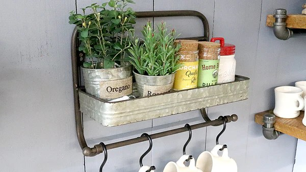 storage solution cookhouse towel rack