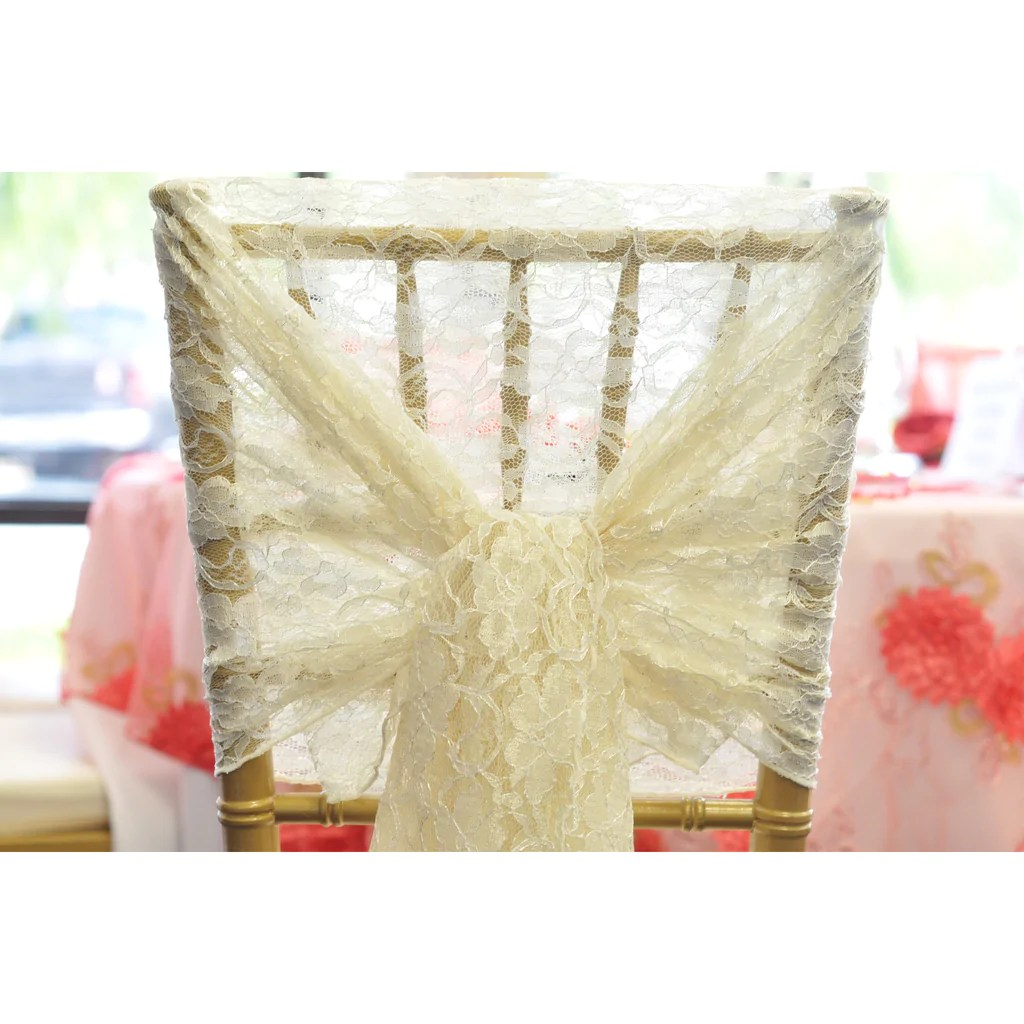 chair covers vintage banquet chairs cheap ivory lace hood wholesale wedding l party supplies