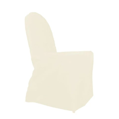 chair covers ivory tilting office standard round top banquet cover polyester wholesale wedding l