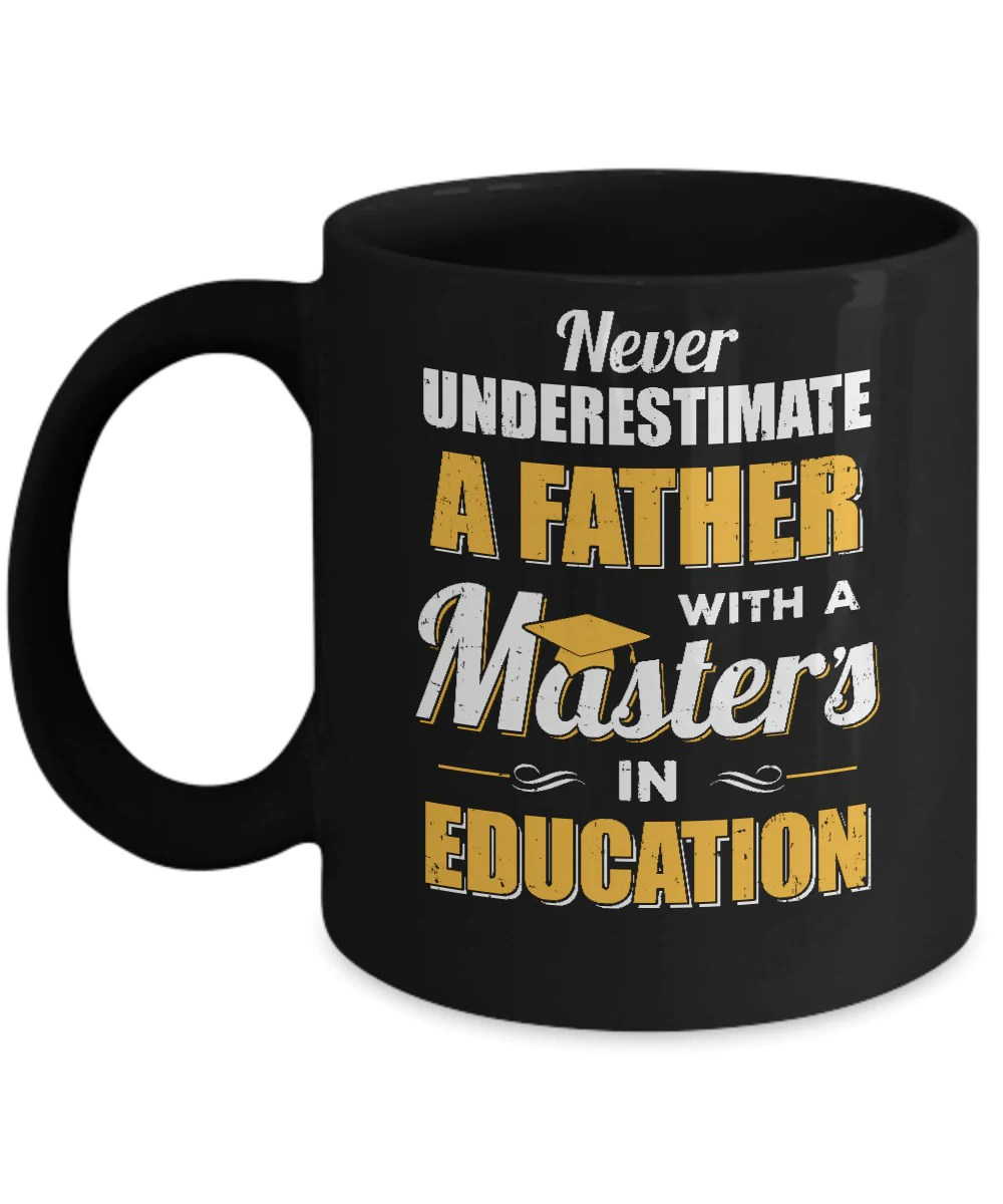 father with a masters