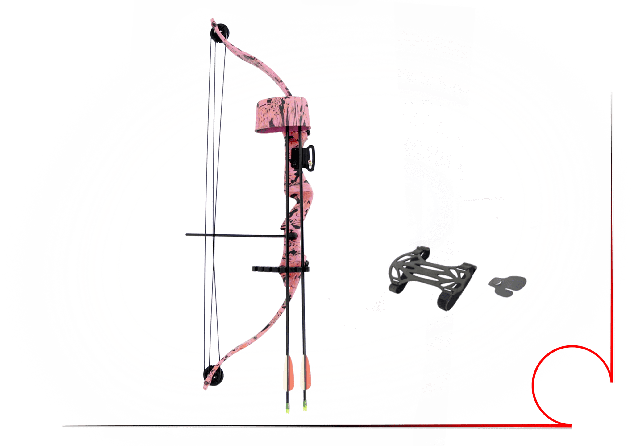 hight resolution of majestic recurve compound bow