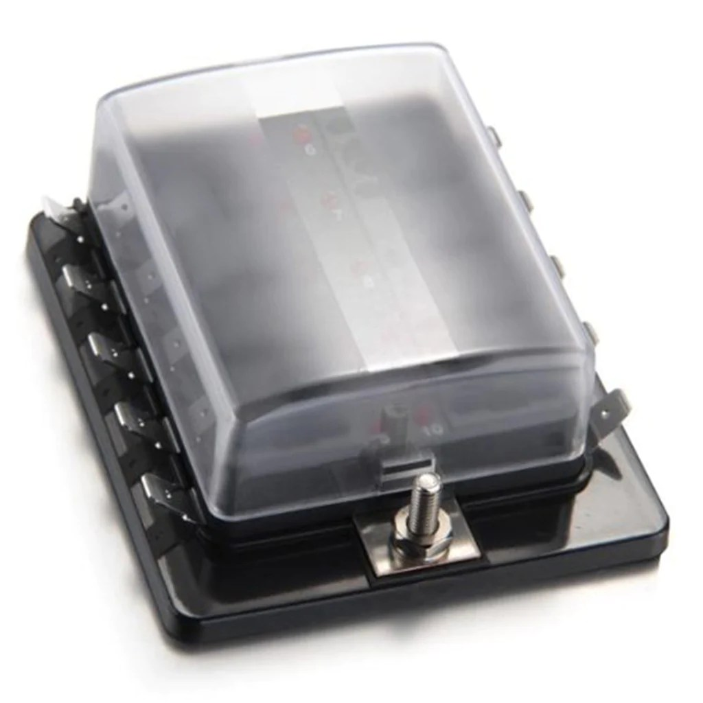 hight resolution of buy led blade fuse box online 10 position fast free delivery uk grease monkey direct