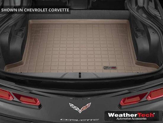 C7 Corvette WeatherTech Cargo Mats  Trunk