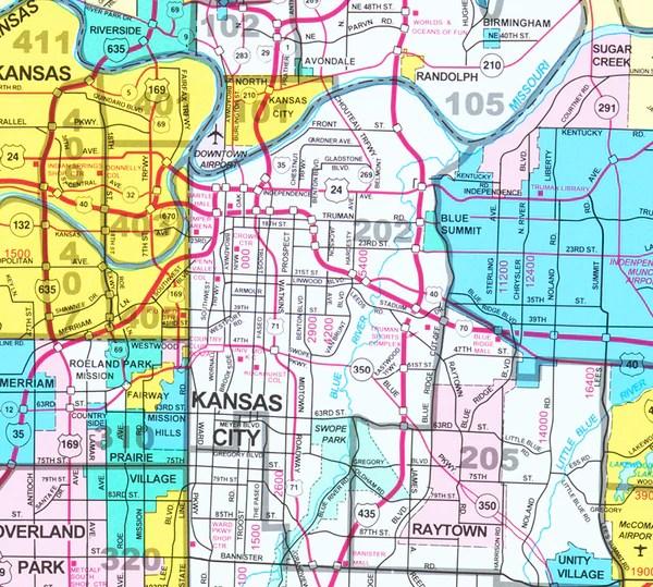 Kansas City MLS Map Custom Sizes Gallup Map